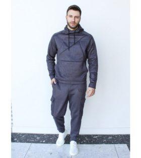 Мужской спортивный костюм Suede / BARRACUDA Серый