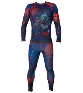 """Компрессионный костюм BARRACUDA""""Space Fish"""""""