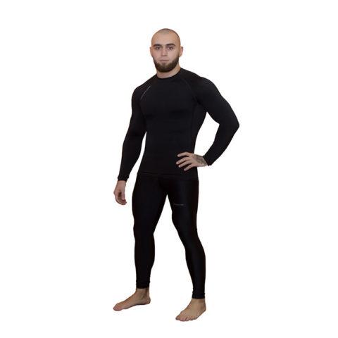 Компрессионные штаны BARRACUDA SL Black (B)