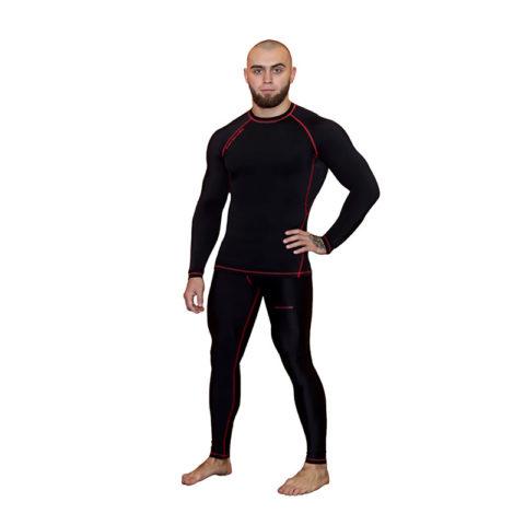 Компрессионные штаны BARRACUDA SL Black (R)