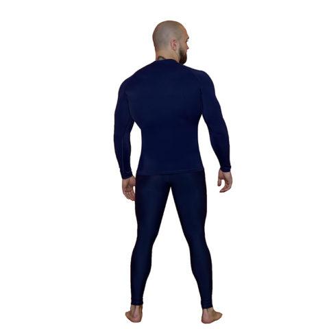 Компрессионные штаны BARRACUDA SL Blue (B)