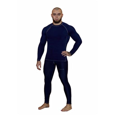 Компрессионные штаны BARRACUDA SL Blue (G)
