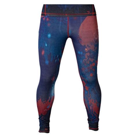 Компрессионные штаны «Space Fish»