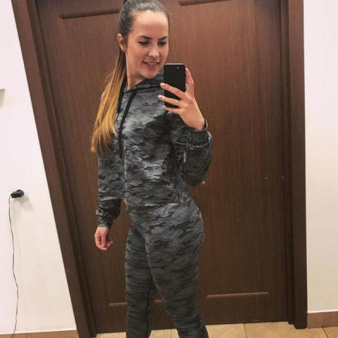 """Женский тренировочный костюм """"BARRACUDA"""""""